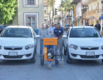 Equipan con vehículos área operativa de CAPAS