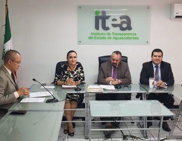 Actualizan padrón de sujetos obligados de transparencia en Aguascalientes