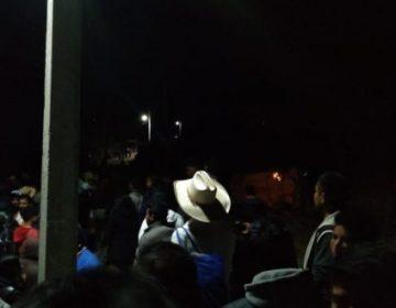 """""""Rebasaron"""" pobladores a policía en linchamiento"""