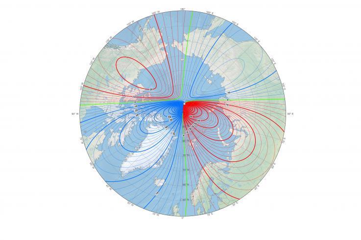 Antiguos granjeros de EU registraron el movimiento del polo magnético de la tierra con piedras de sus terrenos
