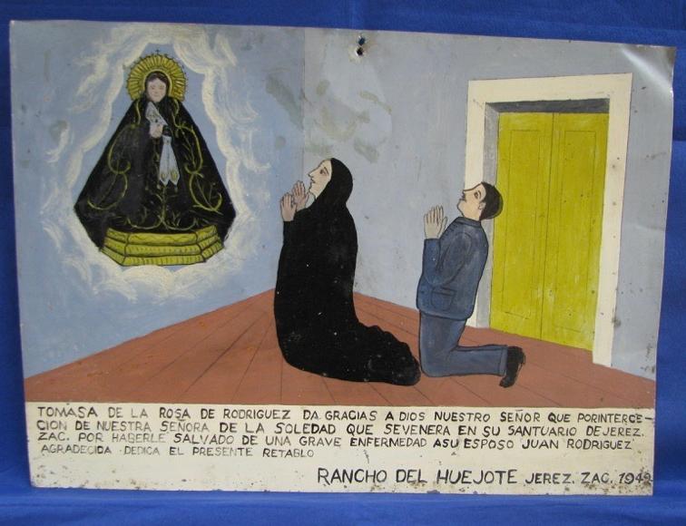 Los 596 exvotos de origen mexicano pertenecen a los siglos XVIII, XIX y XX. Foto: INAH