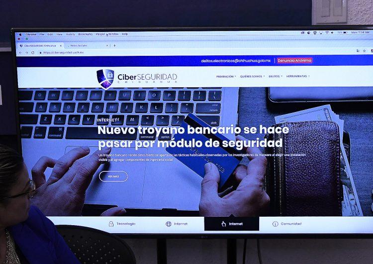 Activan portal para evitar ser víctima de ciberdelitos