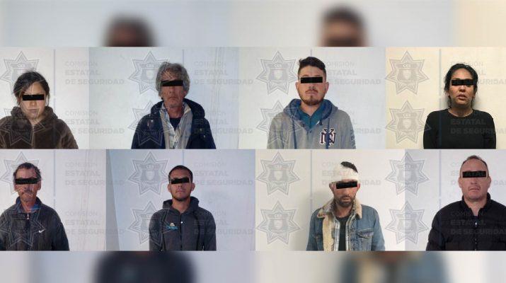 """Capturan a presuntos integrantes del """"Nuevo Cártel de Juárez"""""""