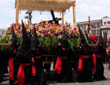 Estiman 150 mil asistentes en Procesión del Viernes Santo