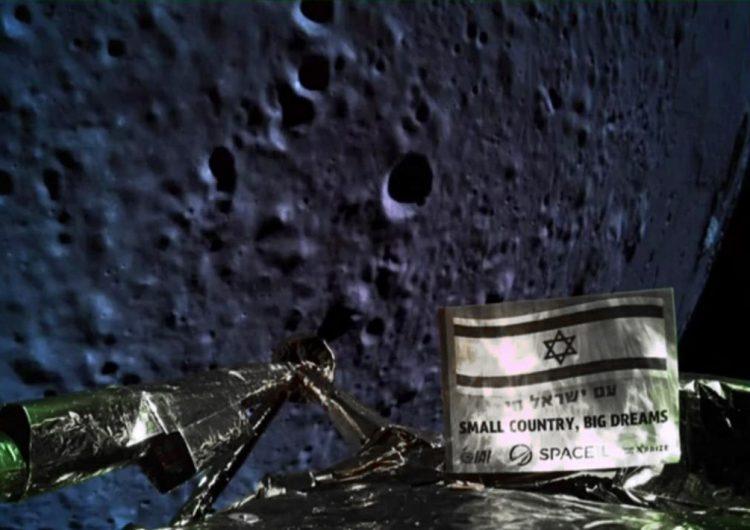 Fracasa la sonda israelí: Se estrella en la superficie lunar por problemas del motor