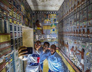 Así se ve la tumba de la V Dinastía en Egipto recién abierta al público