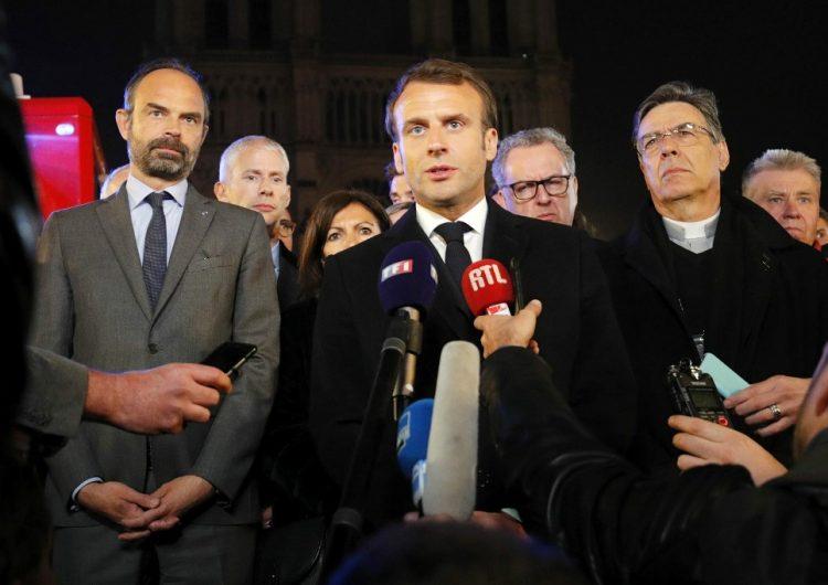 Macron dice que la catedral de Notre Dame se reconstruirá en 5 años