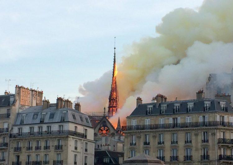 Francia organiza concurso internacional para diseñar la nueva aguja de la catedral de Notre Dame