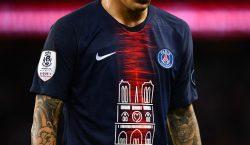 El PSG vende 1,000 camisetas con la imagen de Notre…