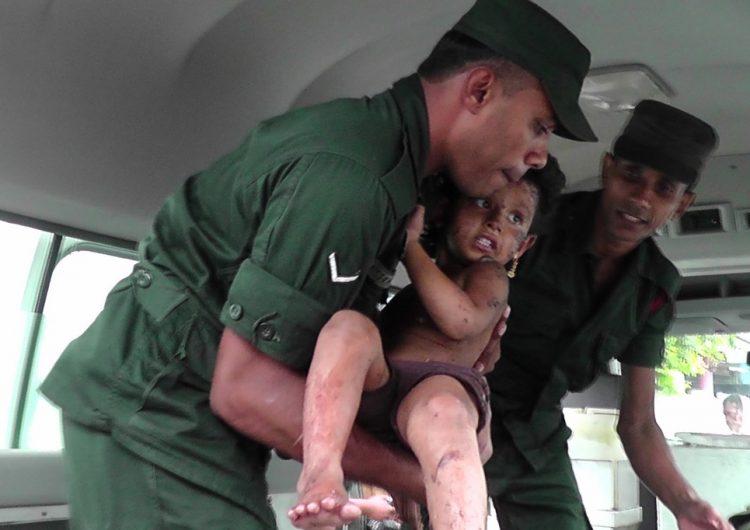 Una operación contra islamistas en Sri Lanka deja 15 muertos, entre ellos seis menores