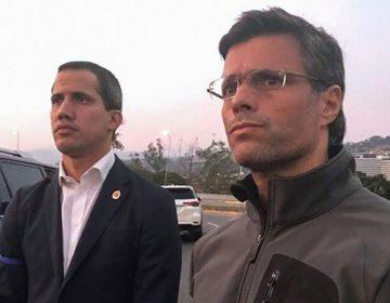 Leopoldo López se refugia en la embajada de España; Juan Guaidó sigue recorriendo calles de Venezuela