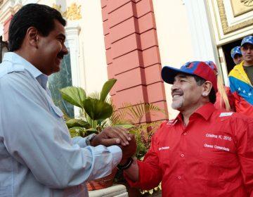Maradona dedicó triunfo de Dorados a Maduro; ahora Femexfut lo investiga