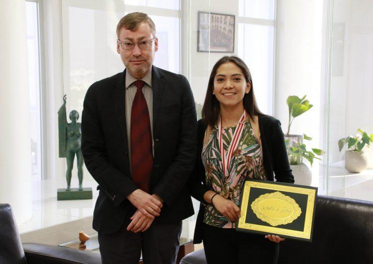 Alumna de la UAA gana primer lugar en Festival Internacional de Ciencia y Tecnología 2019