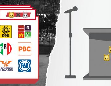 Este domingo se realizará el primero de 25 debates electorales en Baja California; inician los candidatos a gobernador.