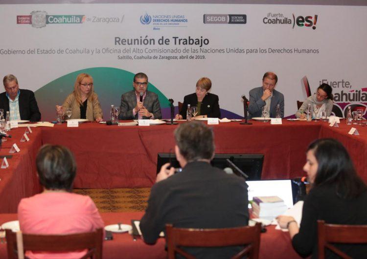 Riquelme aceptó violaciones a derechos en Coahuila ante ONUDH