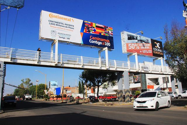 Construirán nueve puentes peatonales en Segundo Anillo