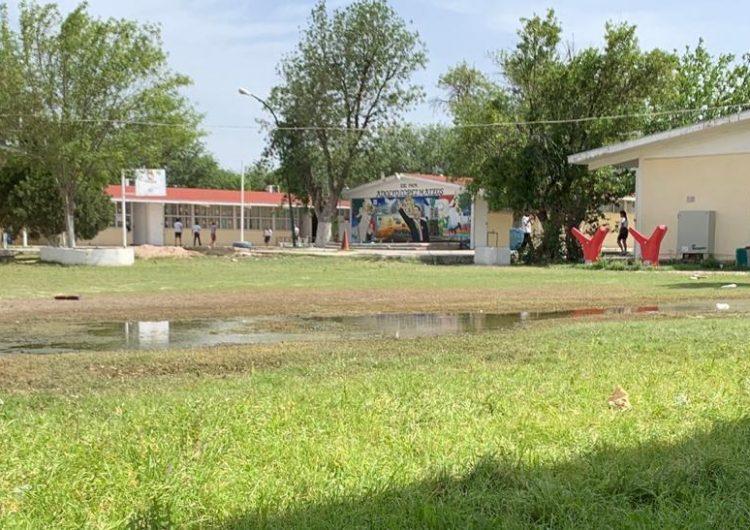 Preparan plan de intervención para escuelas afectadas por lluvias en Piedras Negras