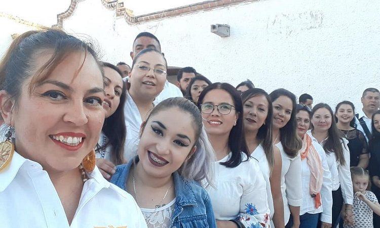 Registra MC planilla única de mujeres en San Francisco de los Romo