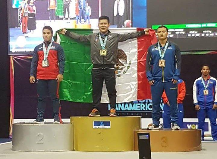 Guanajuatense es campeón panamericano de levantamiento de pesas