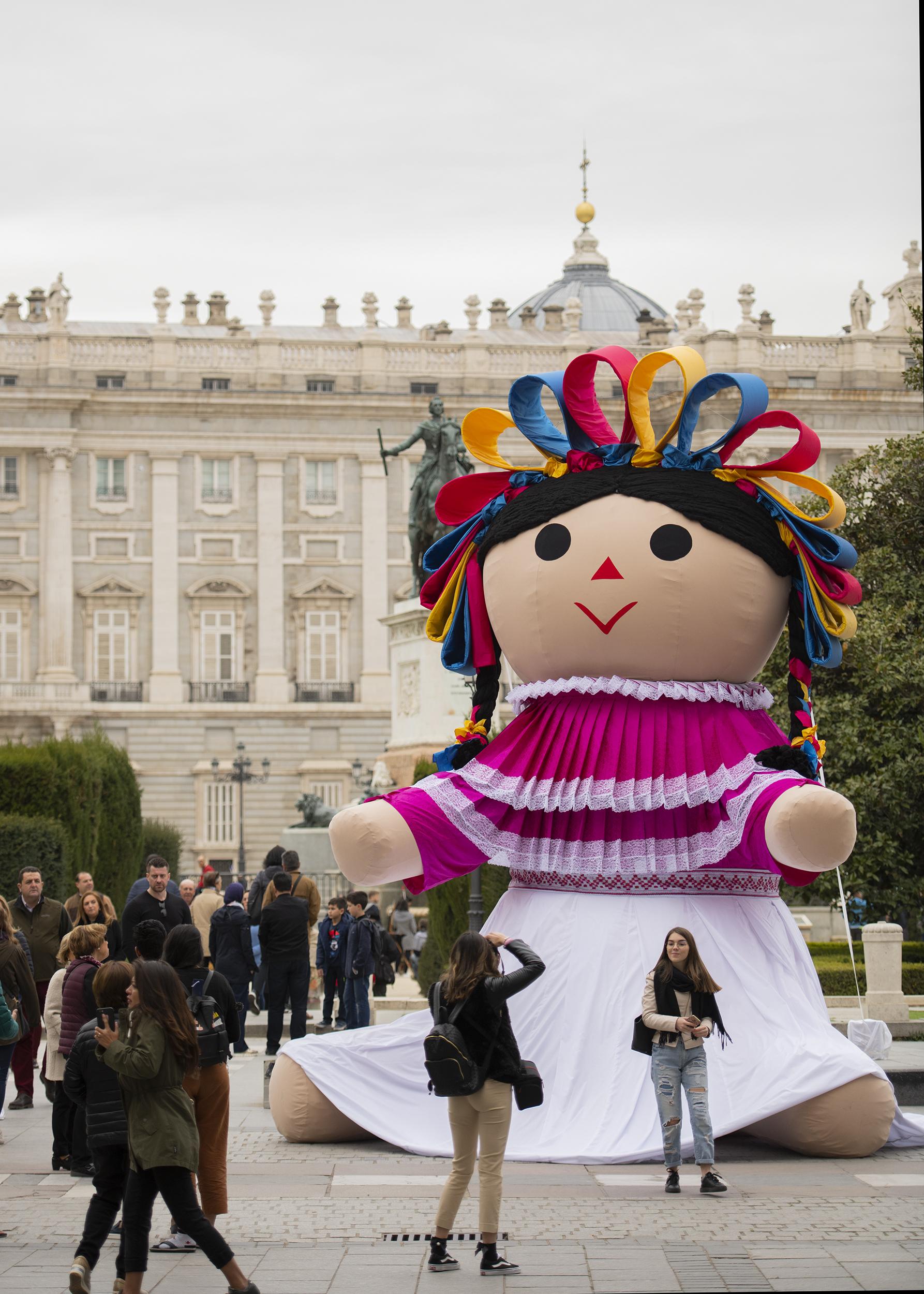 La muñeca, cuyo nombre en otomí significa bebé, es una artesanía tradicional del municipio de Amealco.