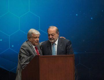 Slim ofreció a AMLO operar el NAIM de Texcoco para evitar cancelación: Bloomberg