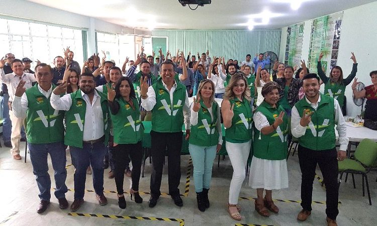 Inician campañas electorales candidatos del Partido Verde en Aguascalientes