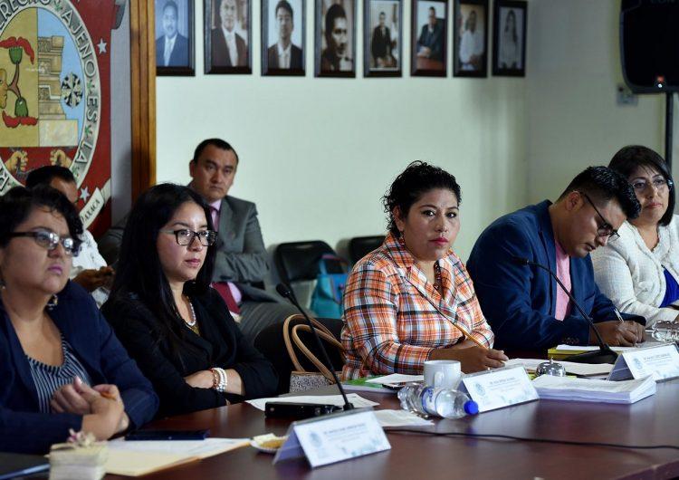 En terna para titularidad de Defensoría de los Derechos Humanos: Yésica Sánchez, Bernardo Rodríguez y José Luis Jiménez