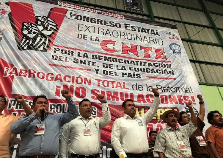 Rechaza CNTE pretender control de plazas