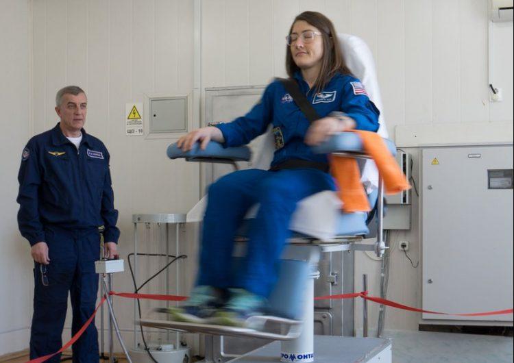 Astronauta de EU romperá récord de permanencia de una mujer en el espacio
