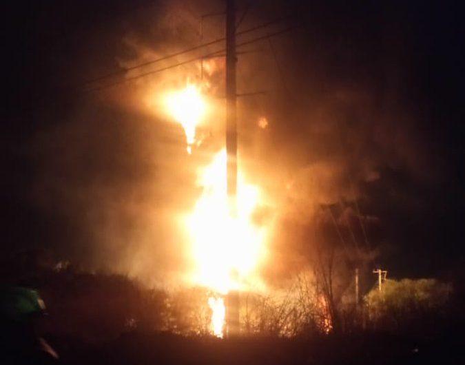 Así sucedió la explosión en ducto de Pemex, en León