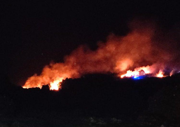 """Se incendia el """"Bosque de los cien acres"""" que inspiró a Winnie Pooh"""
