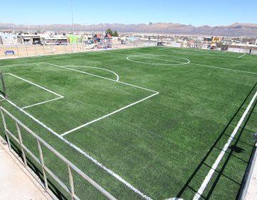 Concluyen nuevo espacio deportivo en Riberas de Sacramento