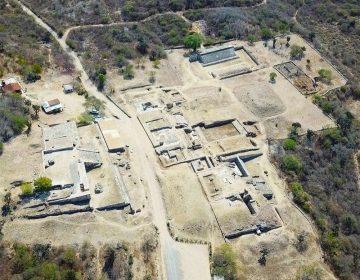 Con técnicas de construcción prehispánica, restaura INAH sitio arqueológico Dainzú afectado por sismo del 7S