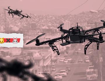 Drones vigilantes y sola una policía; promesas de seguridad del PRI implicarían más deuda para BC