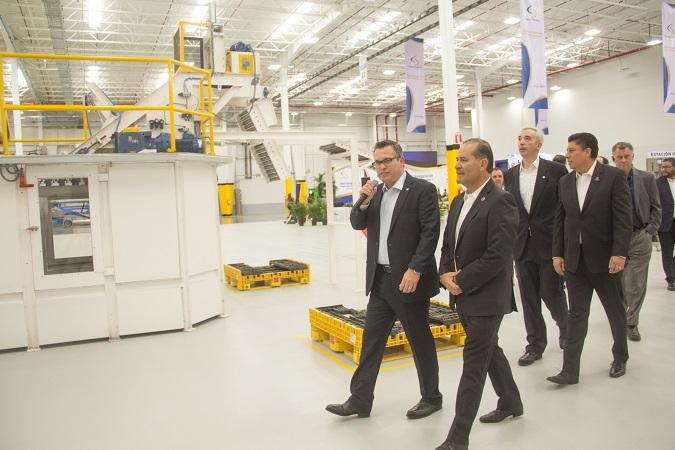 Inauguran segunda planta de producción de Cooper Standard en Aguascalientes