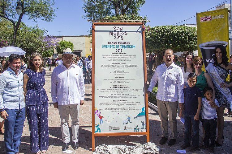 Instalan bando solemne de la Feria Nacional de San Marcos 2019