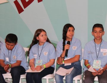 Combate a pobreza y oportunidades de estudio, pide Gobernadora Infantil