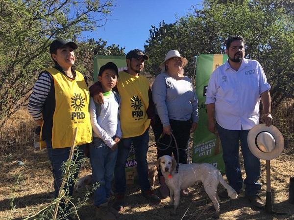 Propone Iván Sánchez Nájera financiamiento a voluntarios ambientales