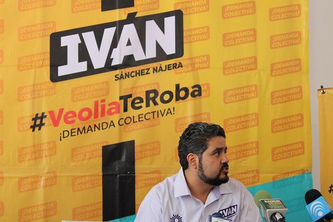 Propone Iván Sánchez Nájera demanda colectiva contra concesionaria de agua