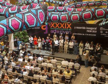 Entregan Premio Nacional de Arte Joven en la FNSM