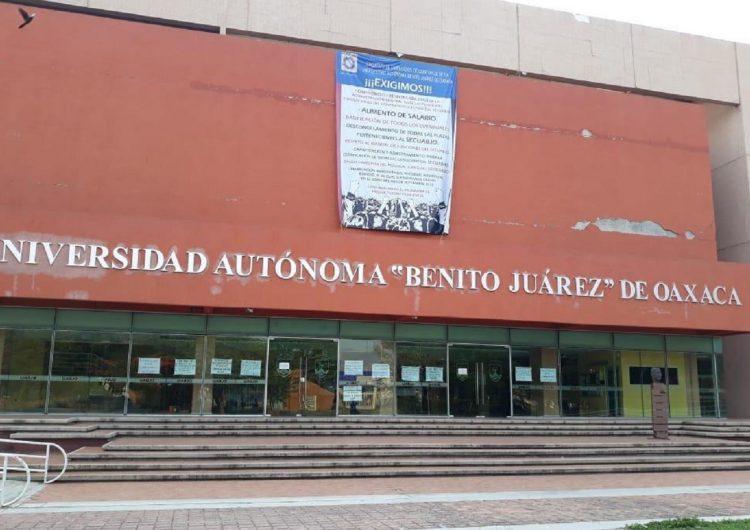 Ronda fantasma de huelga en la UABJO; ahora el SECUABJO realiza paro de 12 horas