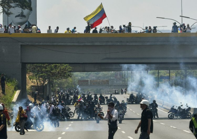 Al menos 69 heridos y 119 detenidos en Venezuela durante manifestaciones, reporta la CIDH