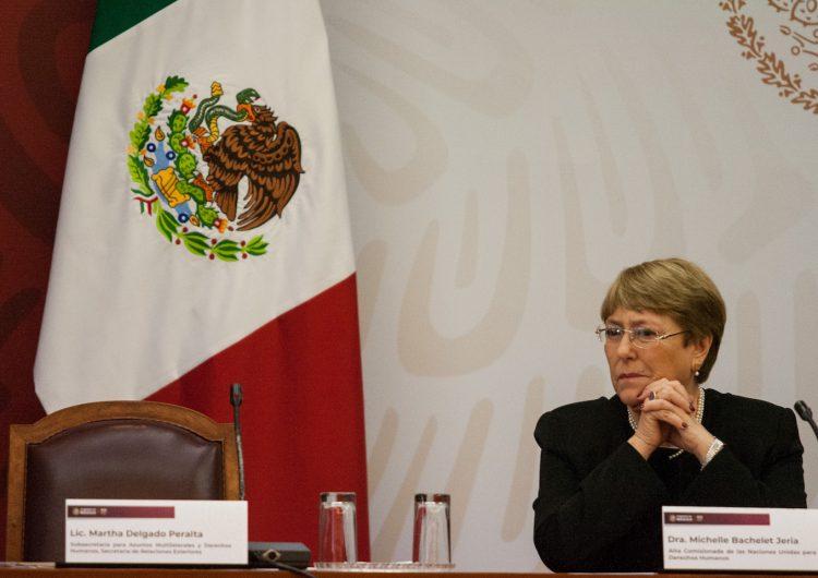 """La búsqueda de desaparecidos debe ser una """"prioridad ineludible"""", dice Bachelet al gobierno mexicano"""