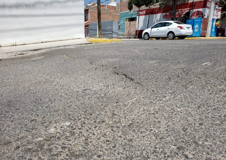 Daña viviendas movimiento de falla geológica en Aguascalientes