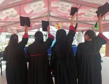 Se gradúan del bachillerato cuatro internas del CERESO Femenil; ahora van por ingeniería