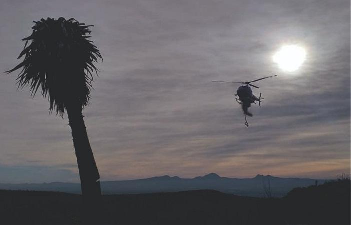 Sofocan al 100% incendio en cerro de Pabellón de Hidalgo