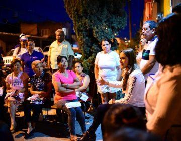 Promete Tere Jiménez mayor seguridad para habitantes de Aguascalientes