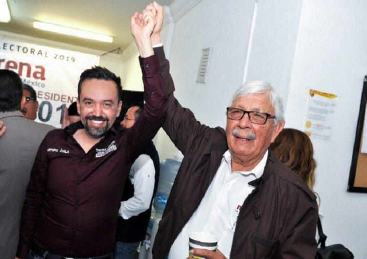 Se suman liderazgos de MORENA a Arturo Ávila