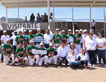 Daremos más apoyo al deporte en Calvillo: Adán Valdivia