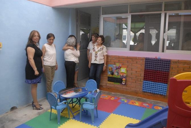 Crean espacio de maternidad dentro del CERESO Femenil